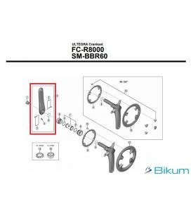 BIELA IZQUIERDA 172,5MM FC-R8000 HOLLOWTECH - Imagen 1