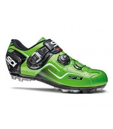 Zapatillas sidi mtb cape amarillo fluo