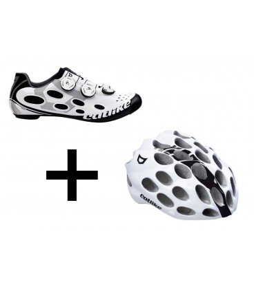Pack Casco y Zapatilla Whisper road