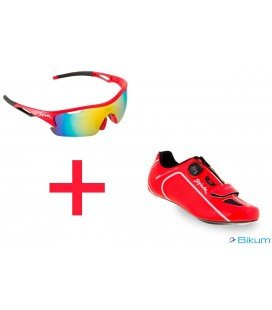 Zapatillas Spiuk Altube RC + gafas plume